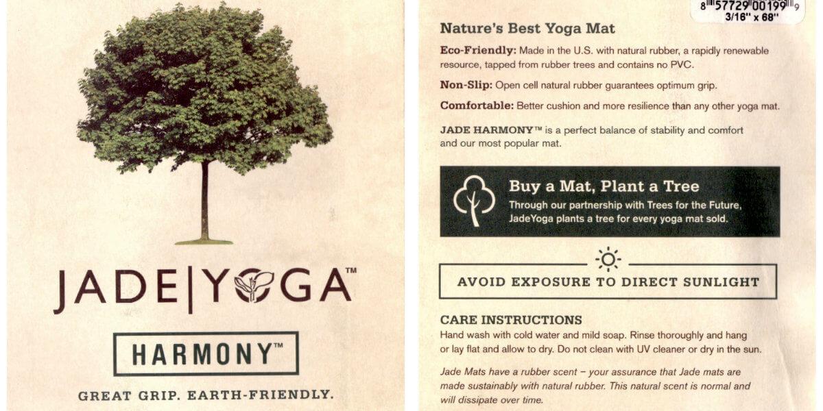 Jade Yoga Harmony tapis de yoga