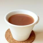 Boisson aux fèves de cacao