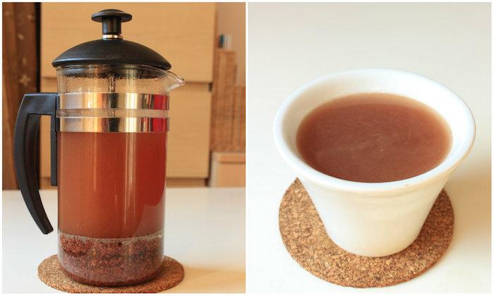 Substitut de café aux fèves de cacao