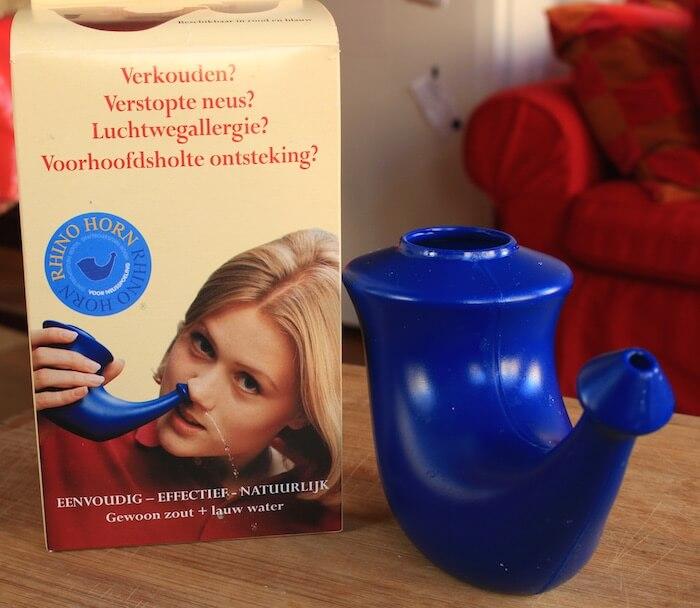 Pot Neti pour nettoyage du nez