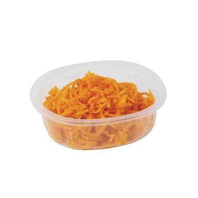 Tupperware de carottes râpées