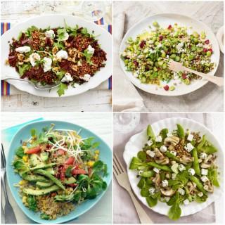 Salades composées à la mode, les Big Ass Salads