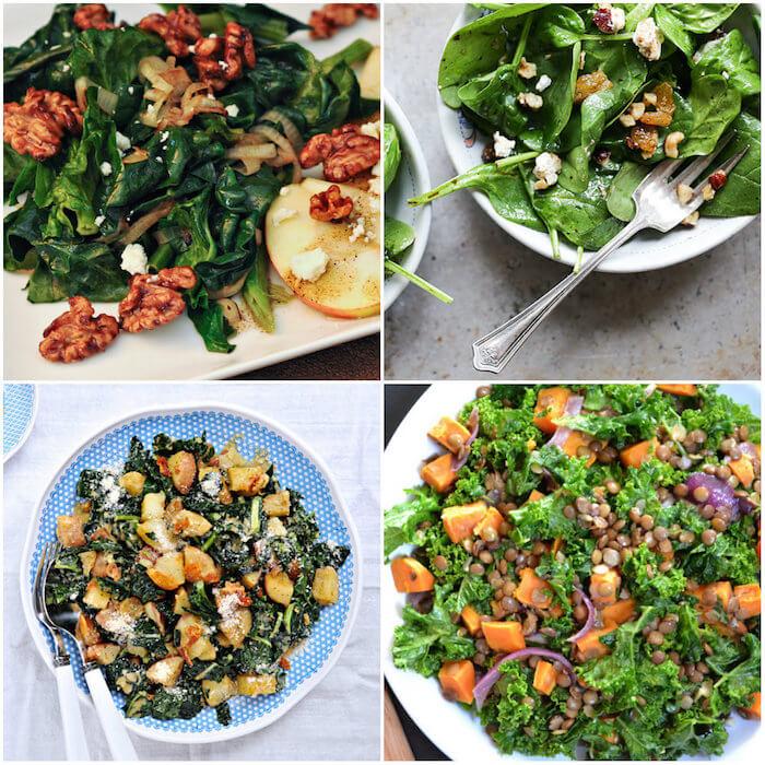 Wilted salads, les salades mi-cuites