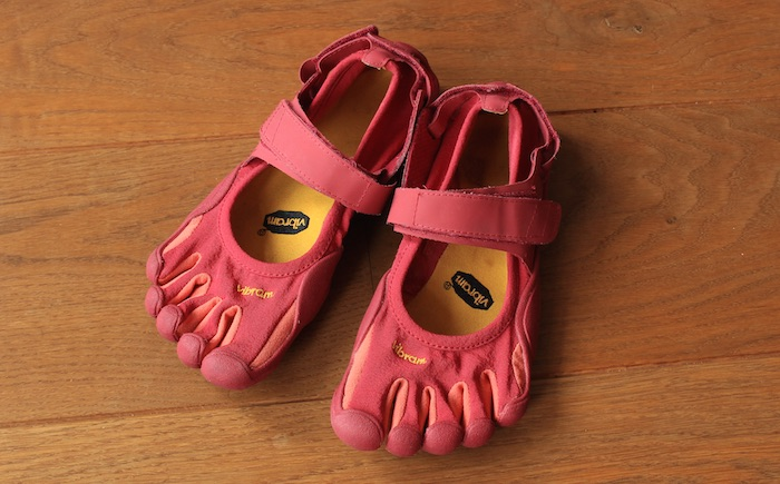 Chaussures Vibram roses