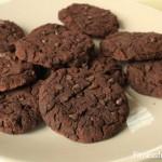 Cookies au chocolat sans sucre et protéinés