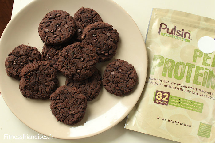 Cookies vegan aux protéines de pois Pulsin