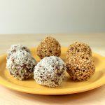 Boulettes quinoa-noix de coco